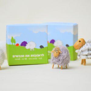 מארז מגנטים: לרא(ע)ות את הכבשים